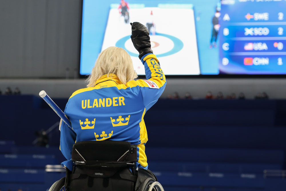 Sweden go top at World Wheelchair Curling Championship