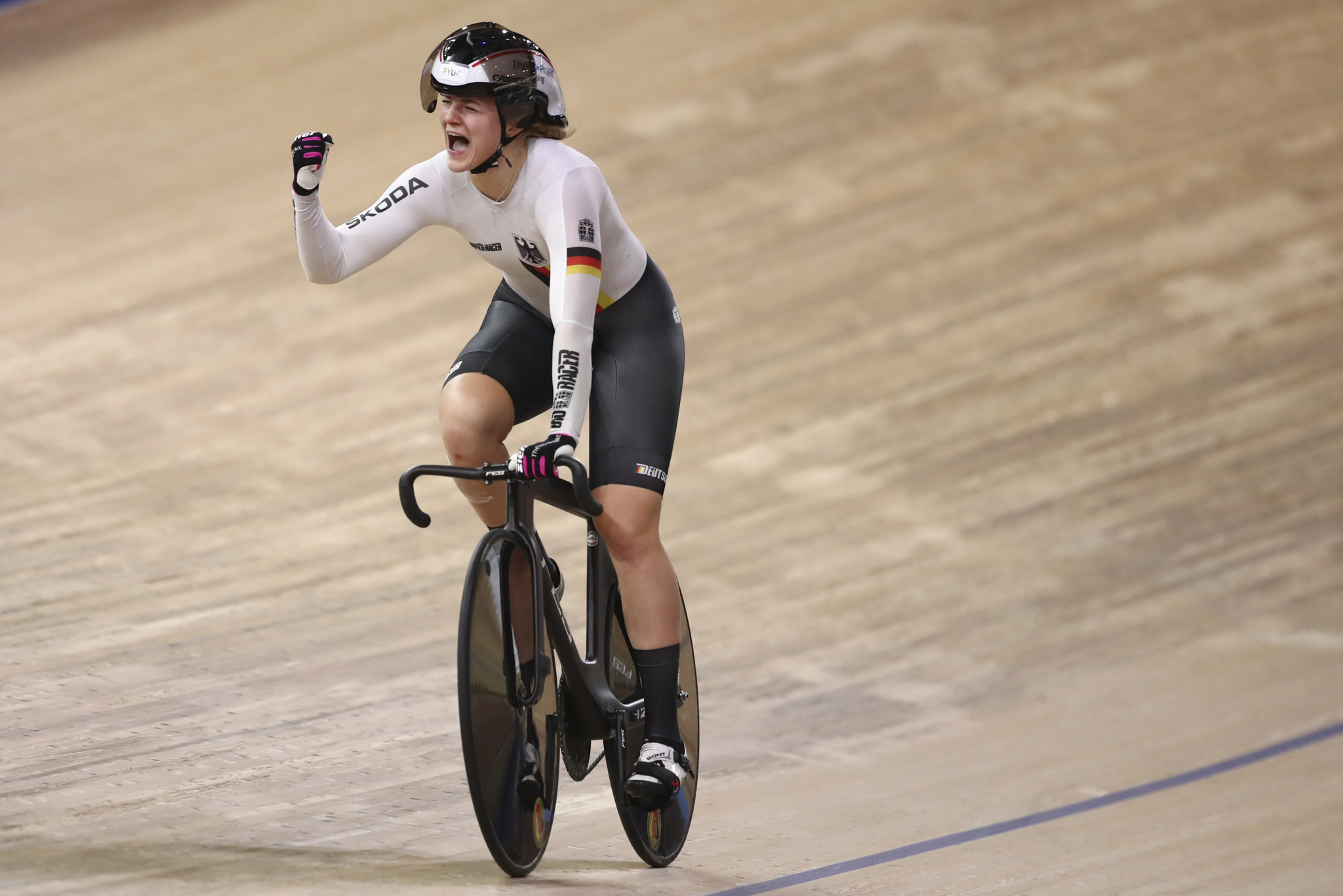 Germany tops medal table on final day of UCI Track Cycling World Championships