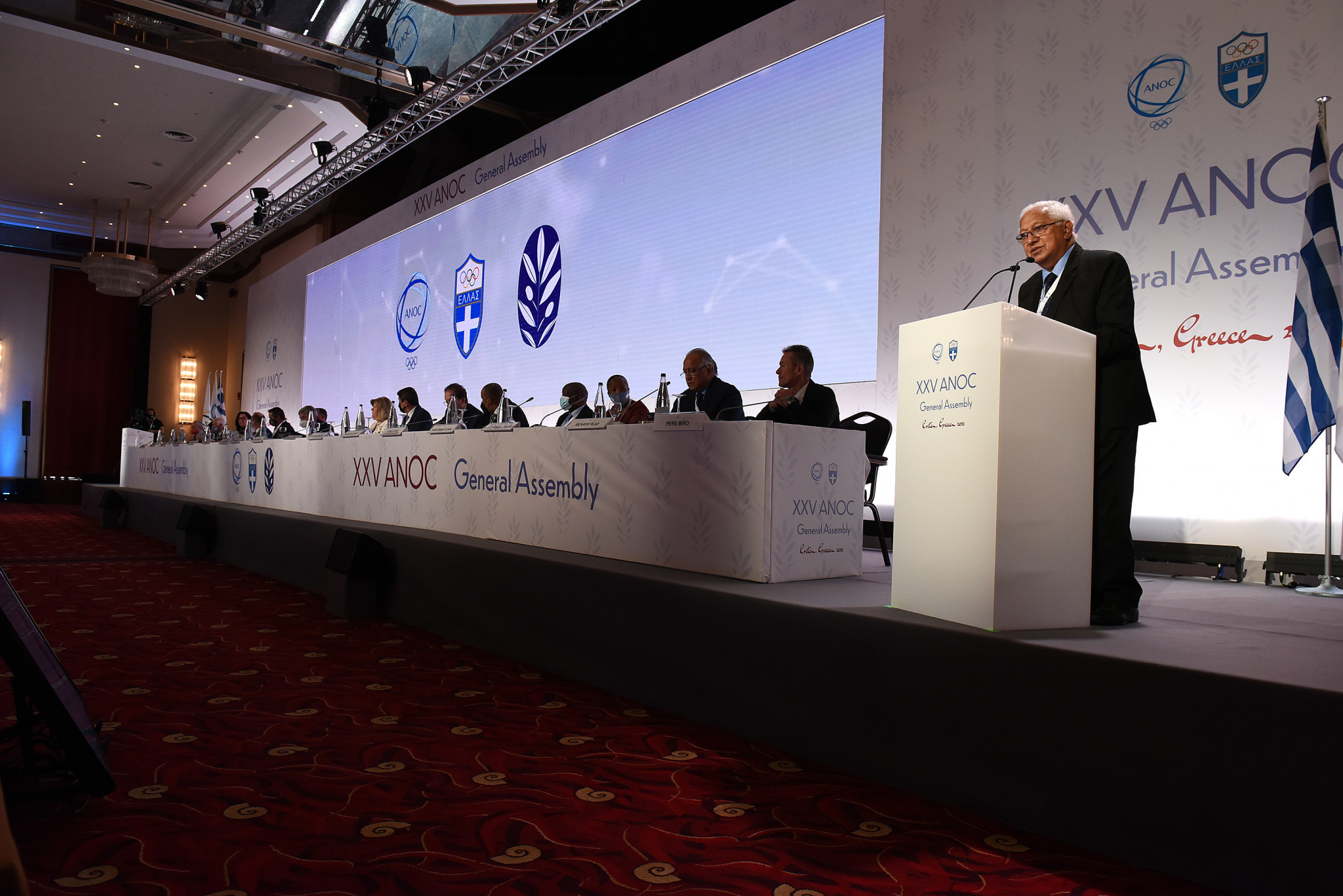 The ANOC General Assembly opened in Crete today ©ANOC