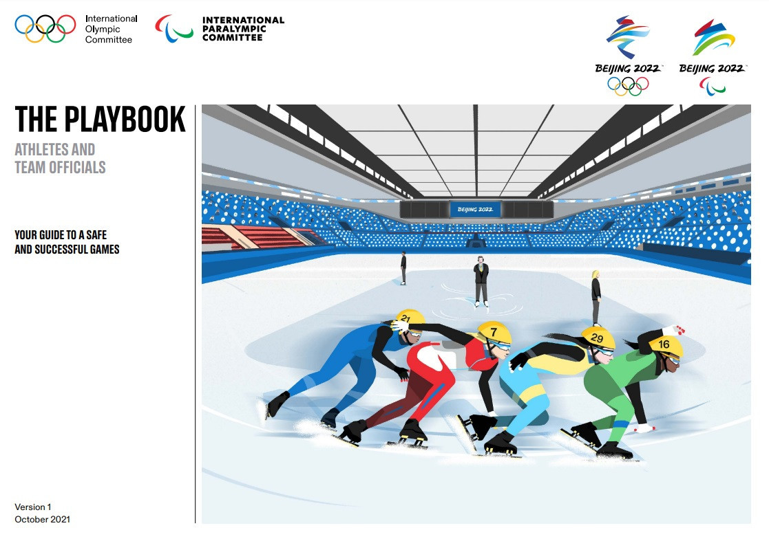 Daily COVID-19 testing among countermeasures outlined in first Beijing 2022 playbooks for Winter Olympics