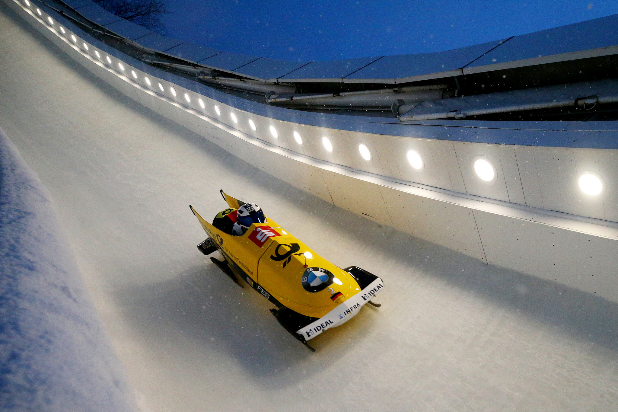 Strong German bobsleigh team boasting Olympic champions named for new World Cup season