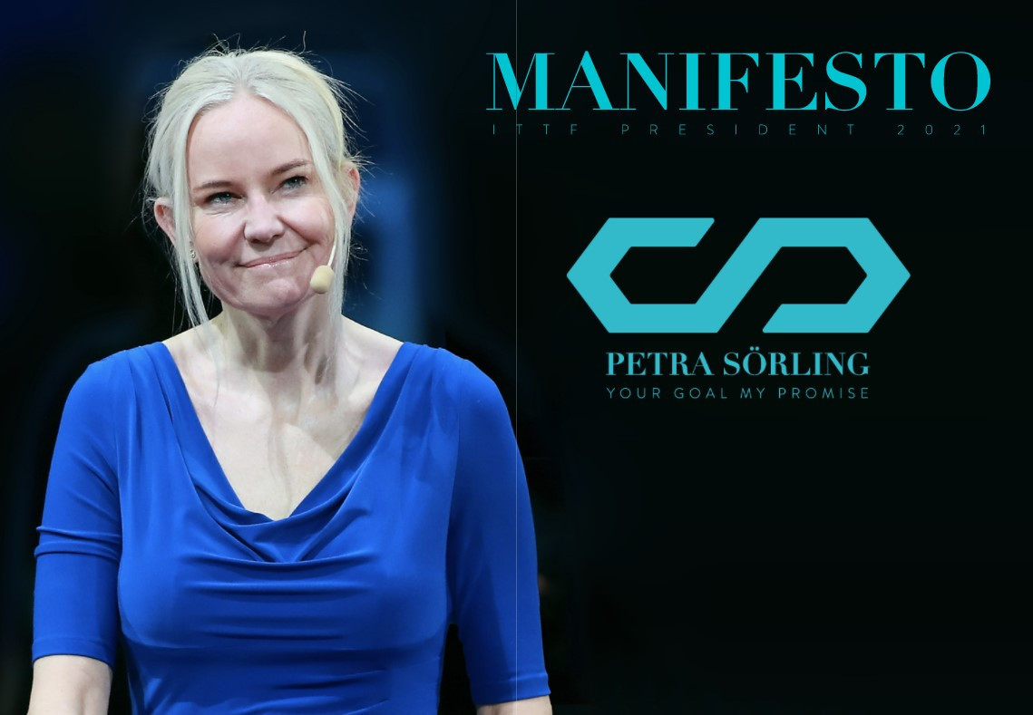 Sörling ITTF President manifesto focuses on unity, growth and sustainability
