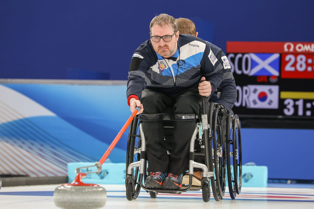 Scotland and US win twice on third day of World Wheelchair Curling Championship