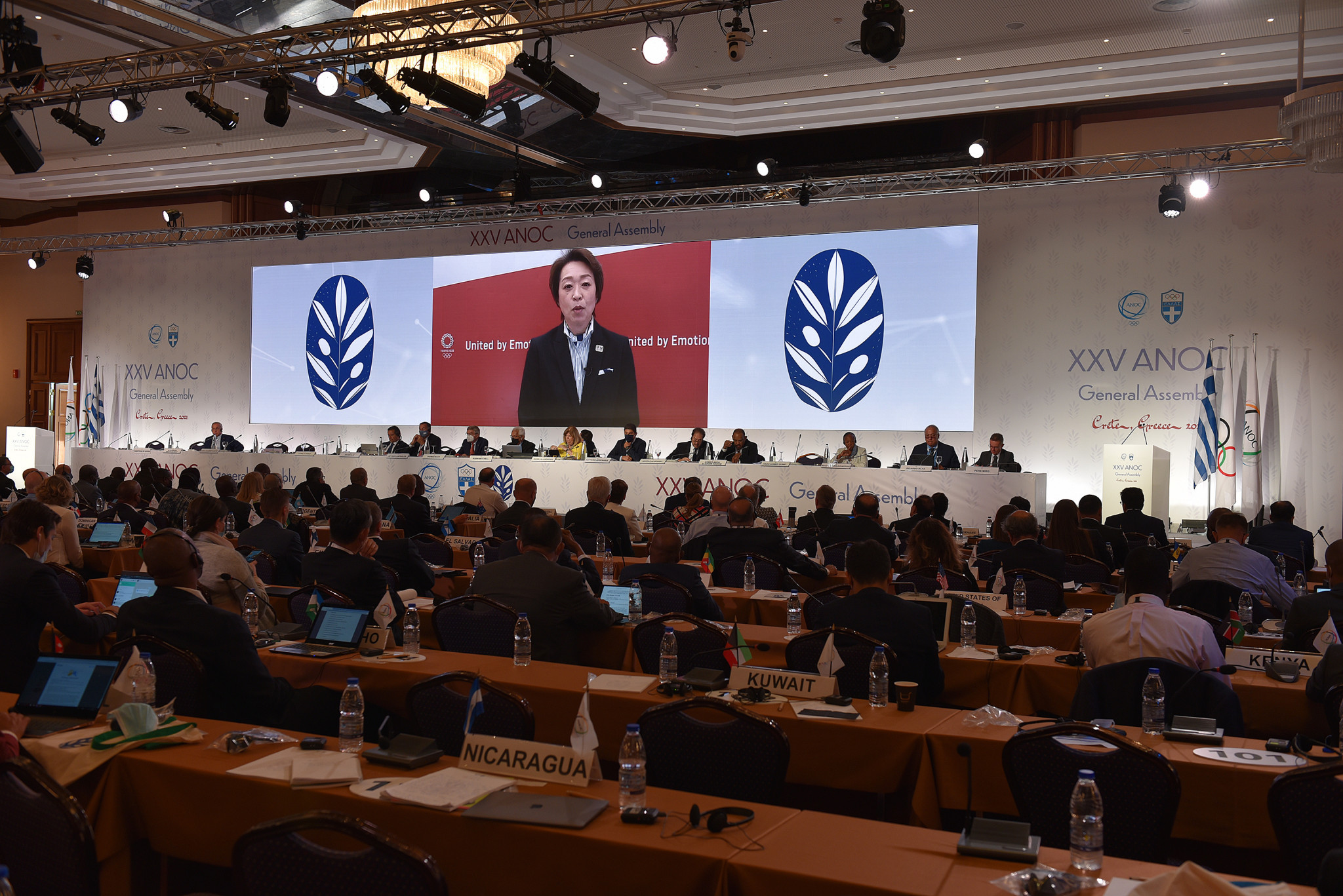 Tokyo 2020 delivers final report to ANOC General Assembly