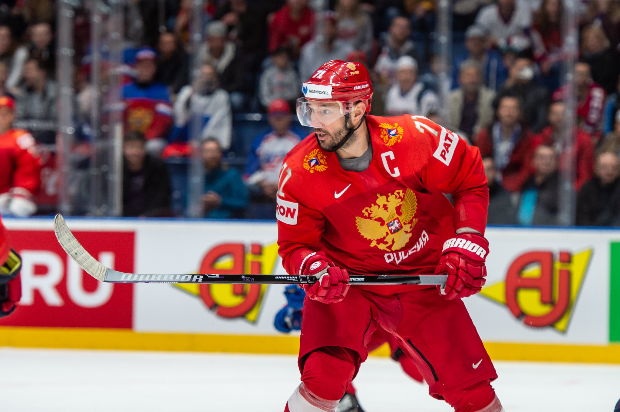 Kovalchuk appointed as general manager of Russian men's ice hockey team for Beijing 2022