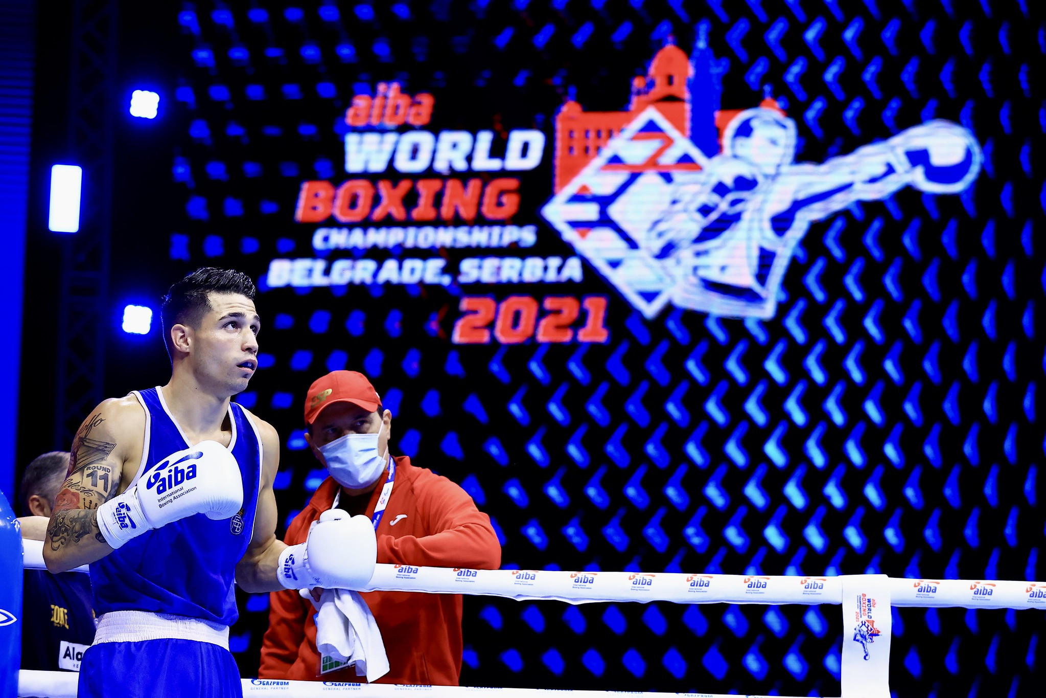 Boxers in the under-57kg and under-67kg categories competed today at the World Boxing Championships ©AIBA