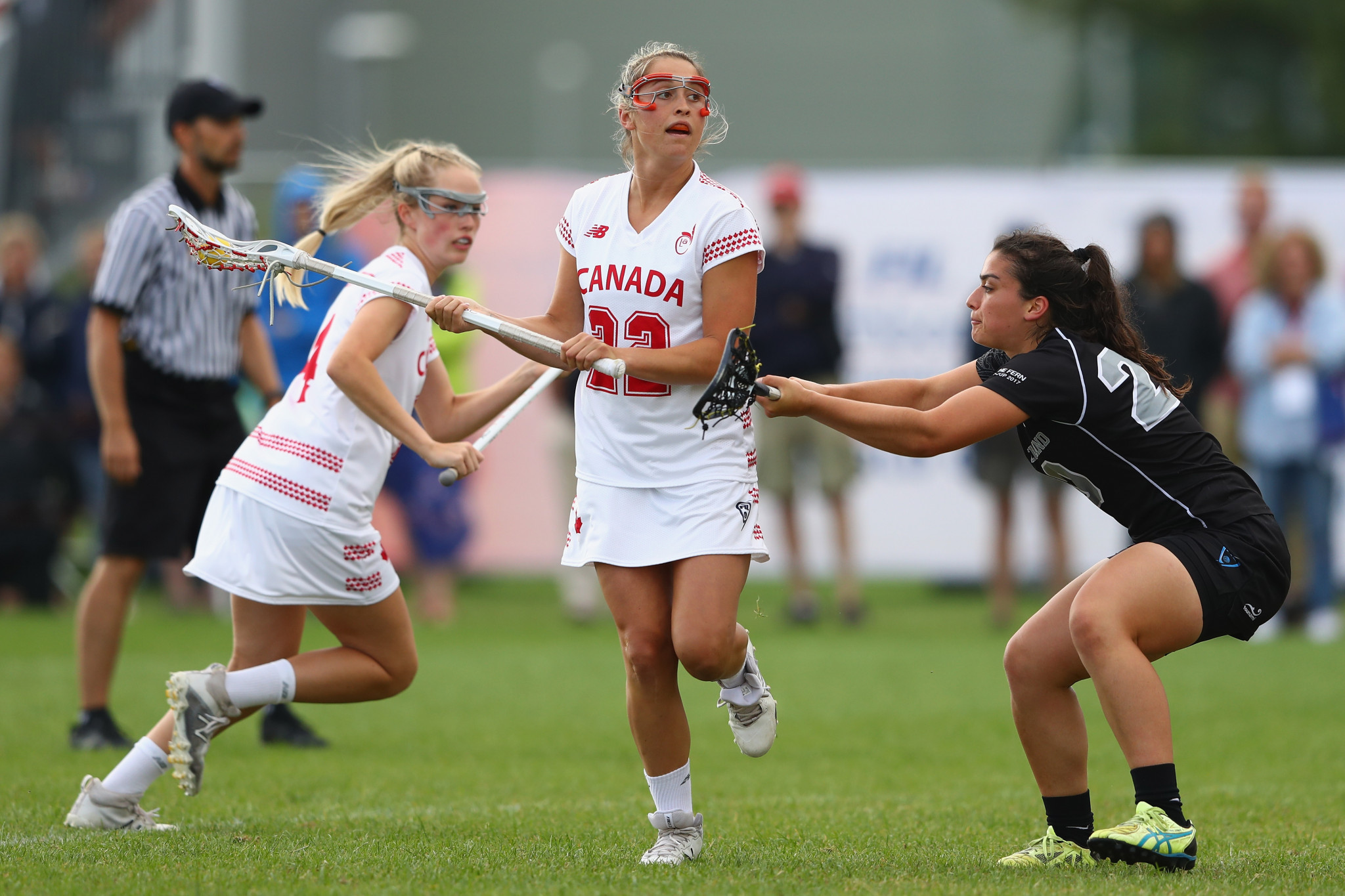 United States and Canada share spoils at World Lacrosse Super Sixes