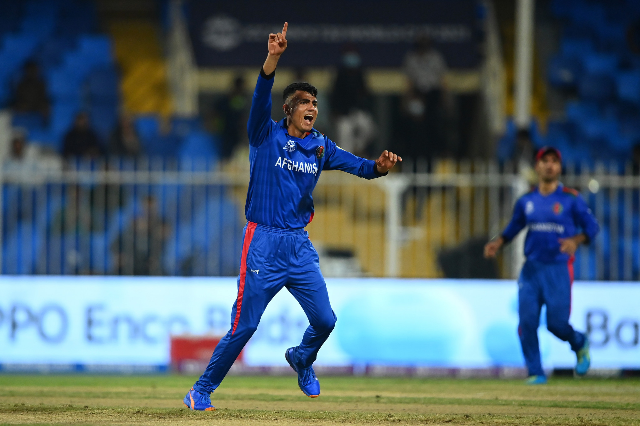 Mujeeb Ur Rahman takes five wickets as Afghanistan hammer Scotland at Men's T20 World Cup