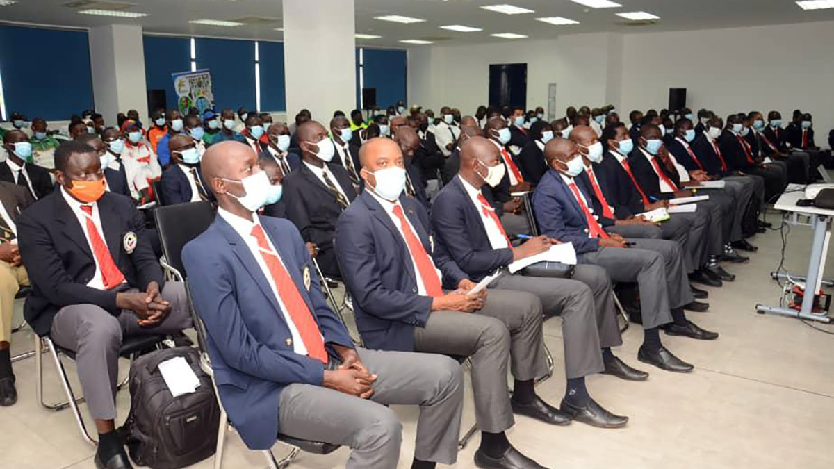 Dakar hosts large-scale refereeing seminar aimed at developing of African karate