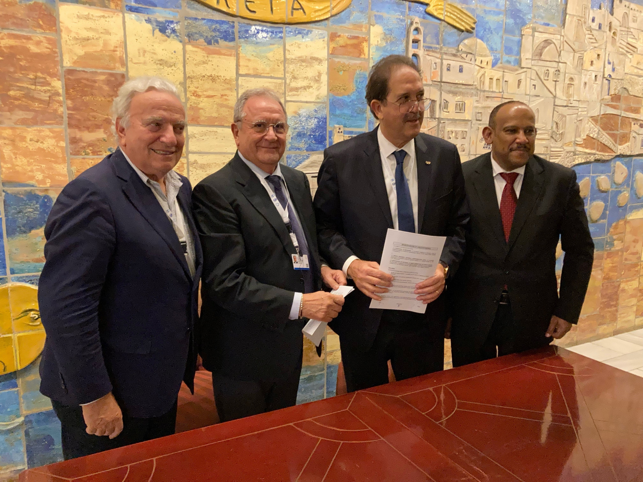 WBSC signs development deal with ANOCA and Olympafrica Foundation