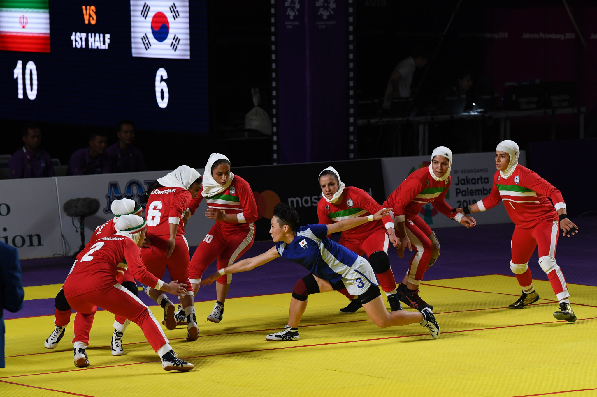 Iran's gold medal-winning kabaddi coaches have deals extended to Hangzhou 2022