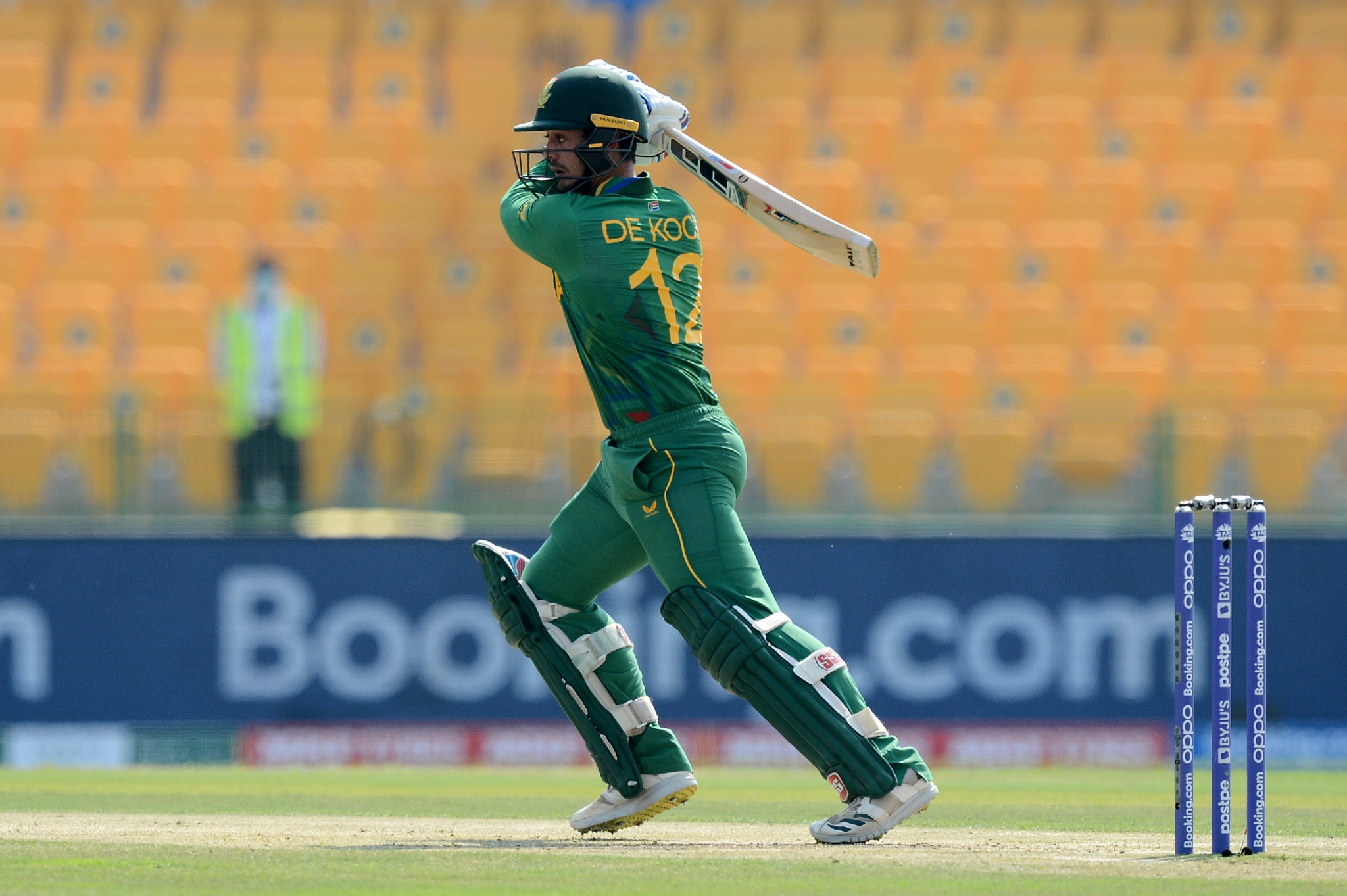 De Kock withdraws over taking the knee as South Africa knock off West Indies at T20 World Cup
