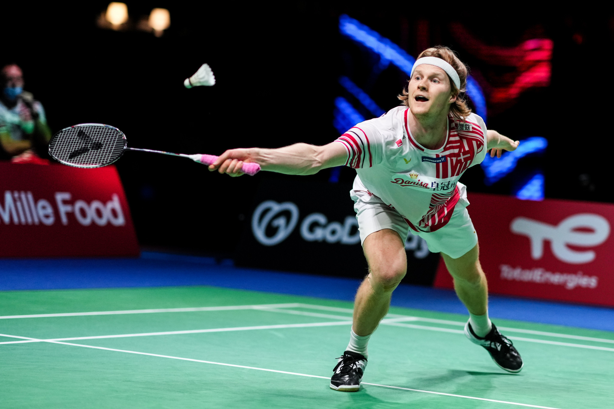 Third seed Antonsen suffers another shock defeat as badminton's French Open gets underway