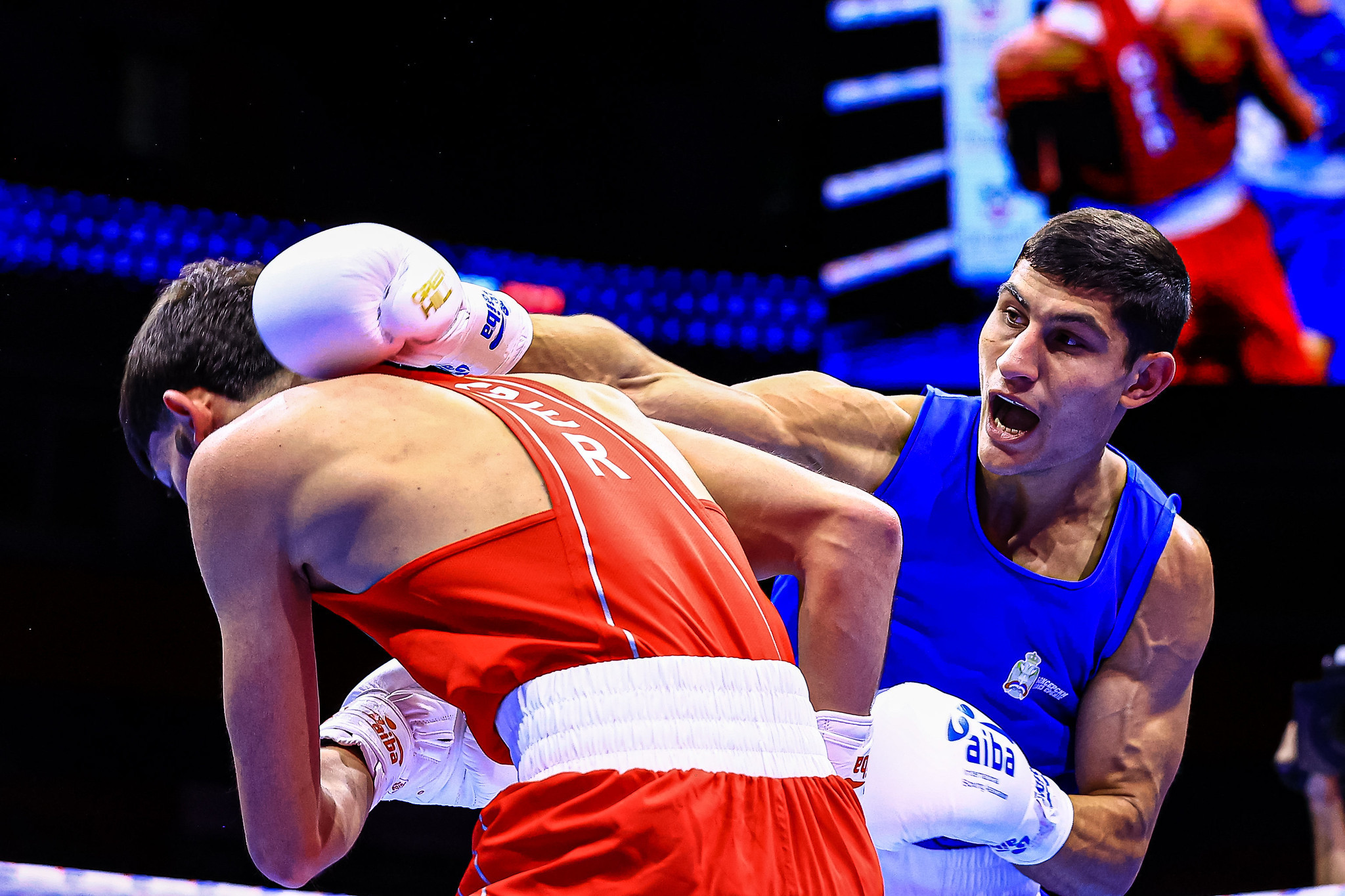 Pavel Fedorov was one of three Serbian winners today ©AIBA