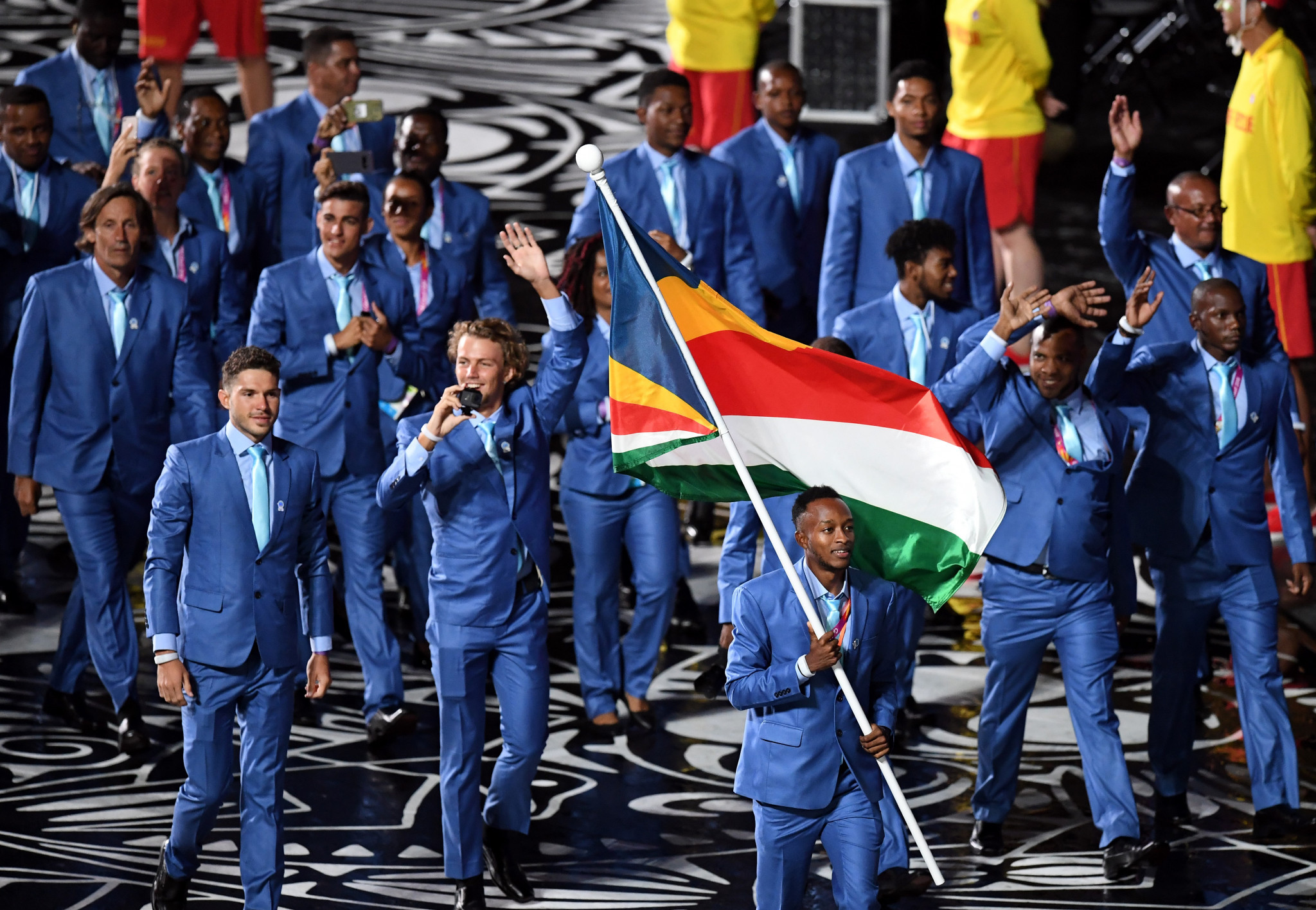 Seychelles at the Opening Ceremony of the Gold Coast 2018 Commonwealth Games ©Getty Images