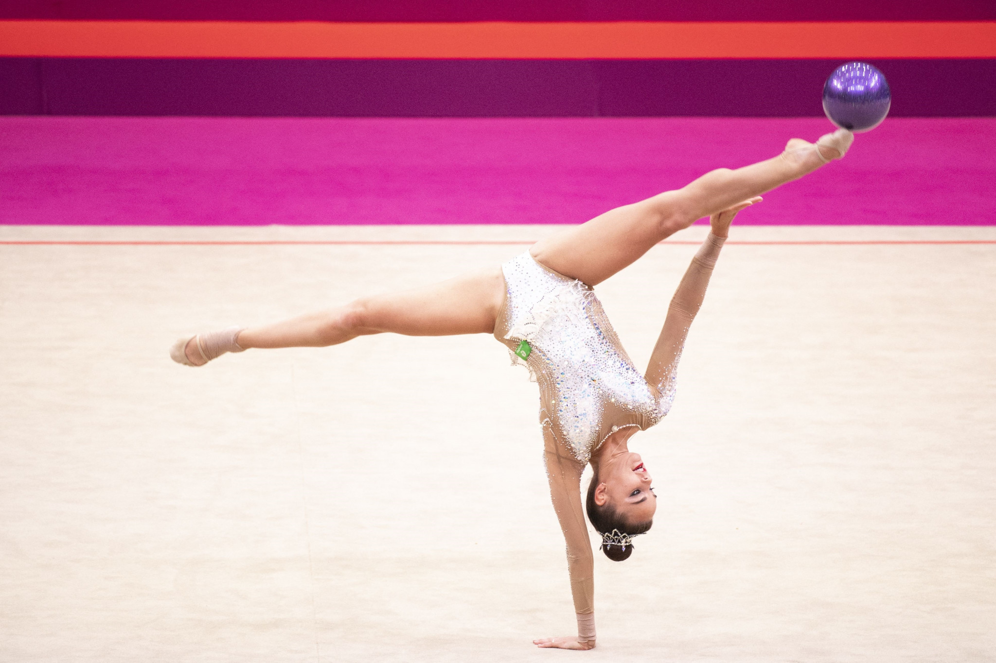 Averina scores golden double at Rhythmic Gymnastics World Championships