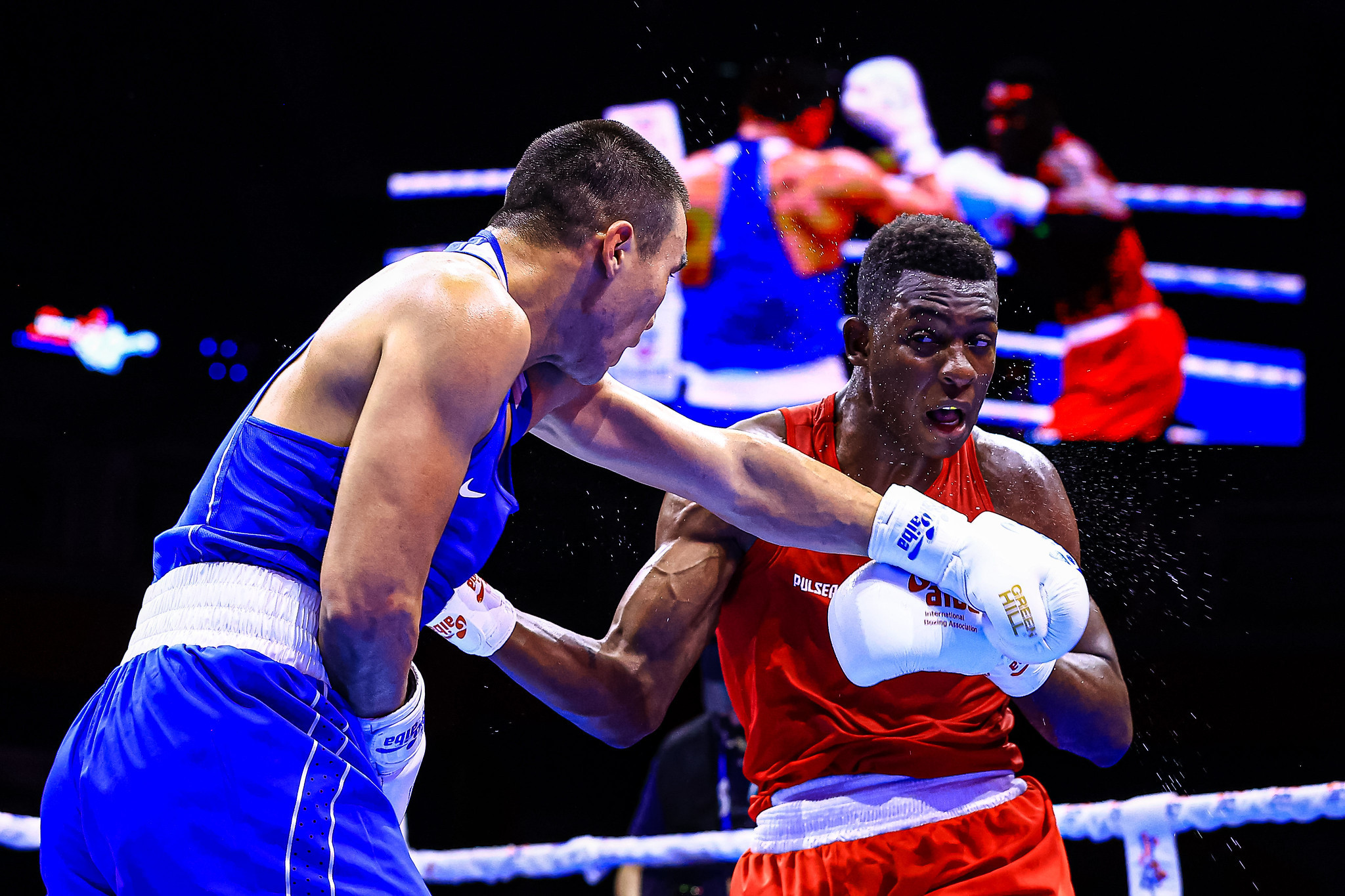 AIBA Men's World Boxing Championships: Day four of competition