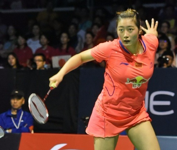 Chinese badminton player free to compete again after drugs ban backdated