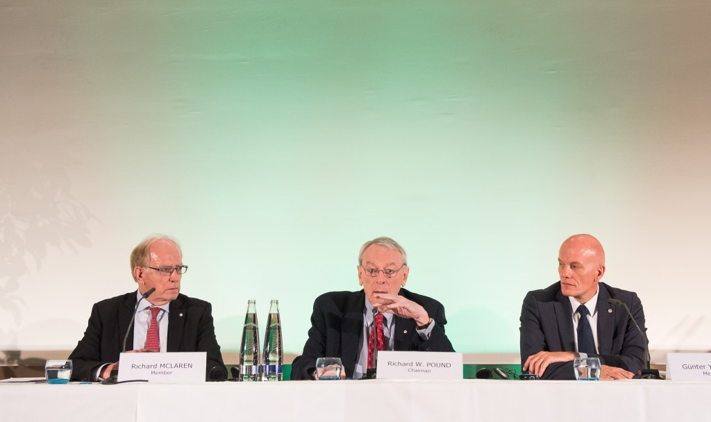 Bach and the IOC have listened to the observer report rather than the one composed by Richard Pound ©Getty Images