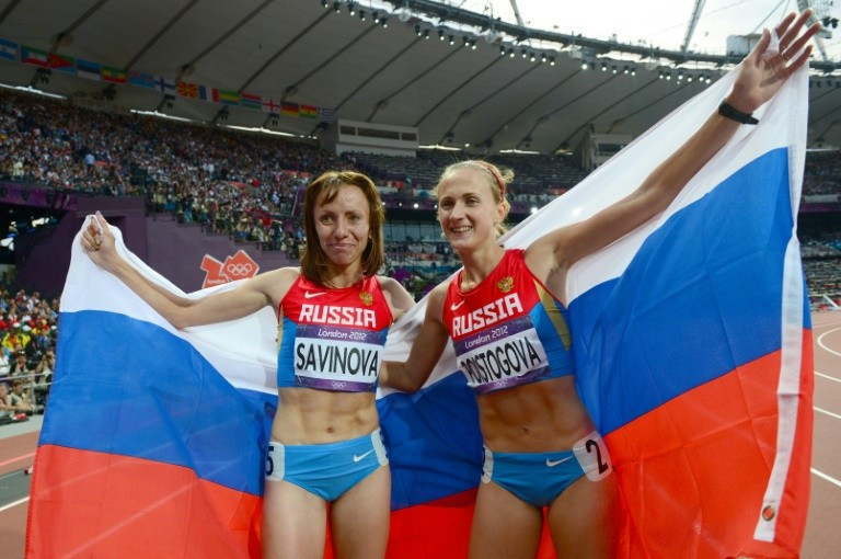 Russian athletes are currently banned by the IAAF following the publication of the WADA Independent Commission report ©Getty Images