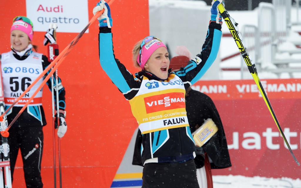 Therese Johaug has blamed sun cream for a positive drugs test ©Getty Images