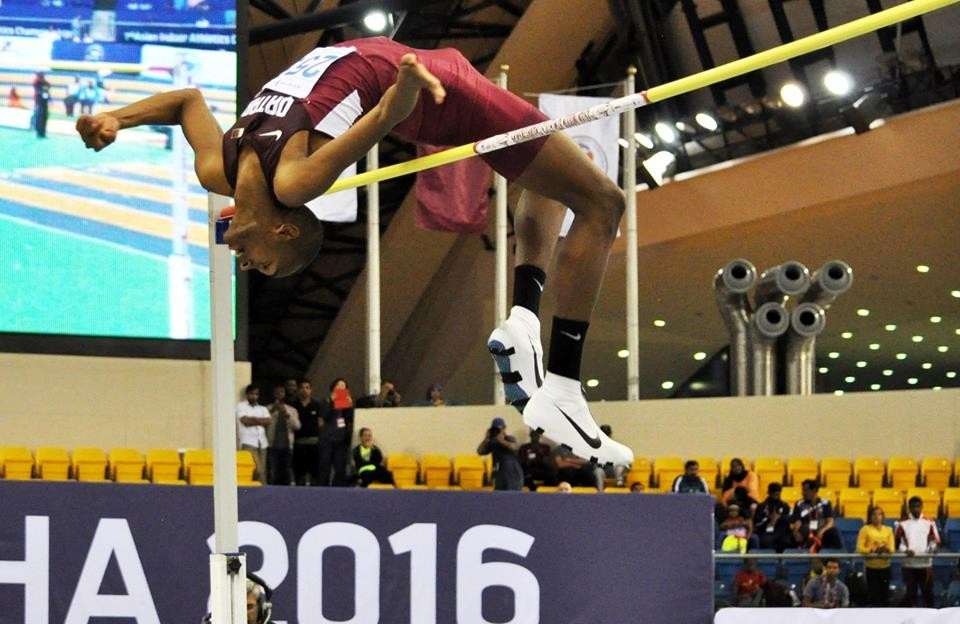 Barshim claims fourth Asian Indoor Athletics Championships gold medal