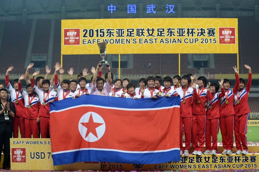 North Korea, the East Asian Cup champions, will be allowed to travel to Japan ©Getty Images