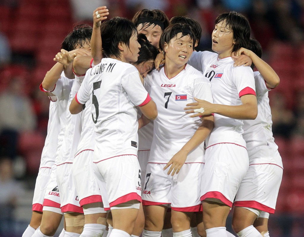 North Korea were knocked out in the group stages at London 2012