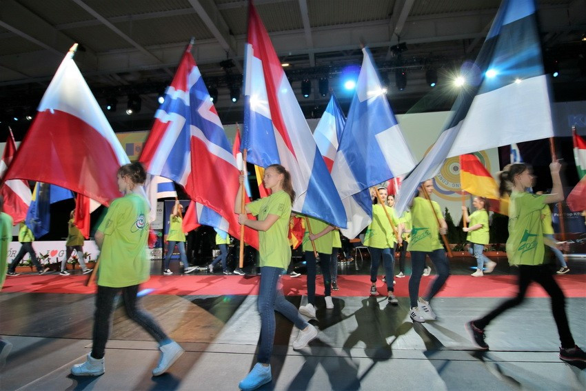 Nearly 600 athletes from 47 nations are competing at the 10 metre European Championship ©ESC
