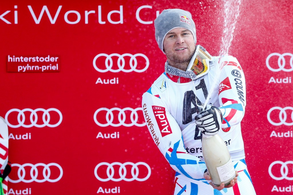 Pinturault relegates home hero Hirscher into second in Hinterstoder