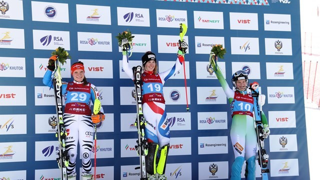 Danioth among medals again at FIS Alpine Junior World Championships