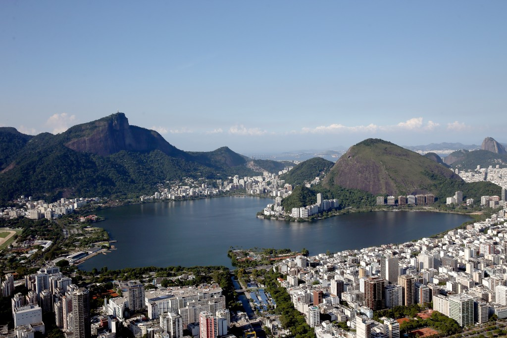 The Rio 2016 rowing venue is beautiful...but multiple problems have emerged ©Getty Images