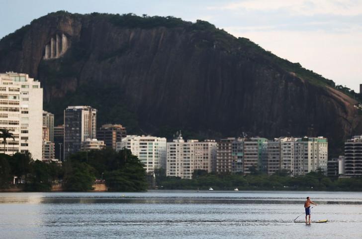Several violent attacks close to the Lagoa Rodrigo de Freitas rowing venue have raised concenrs over the safety of those attending Rio 2016 ©Getty Images