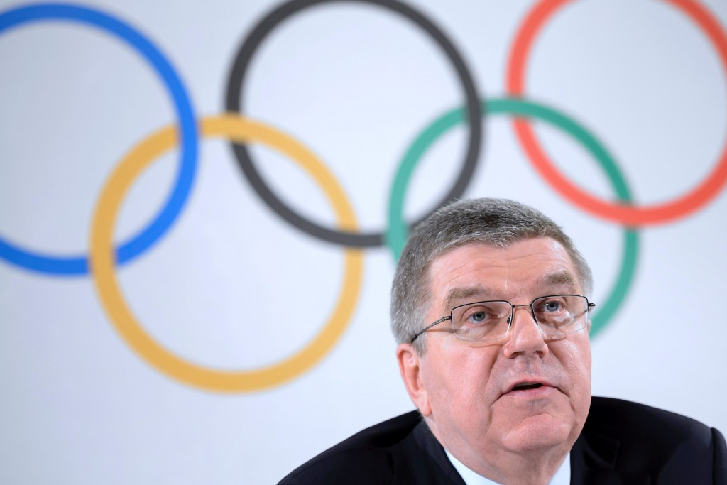 IOC President Thomas Bach has stressed there is