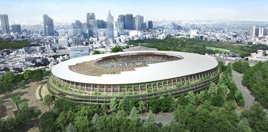 Toshiro Muto has promised the National Stadium will be finished in time for the Olympics