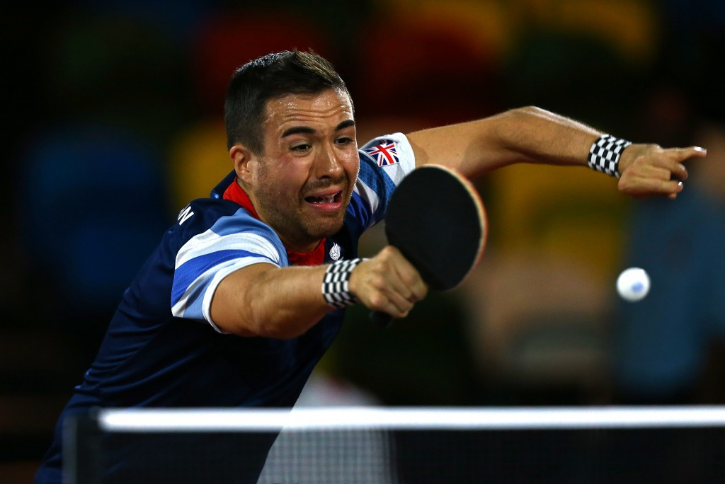 British Paralympic Association announce 12-strong table tennis team for Rio 2016 Paralympics