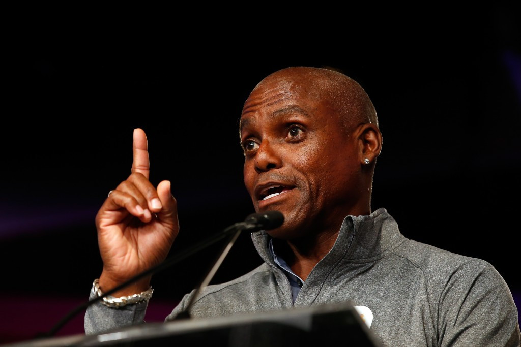 Carl Lewis has called for an independent leader of the IAAF ©Getty Images