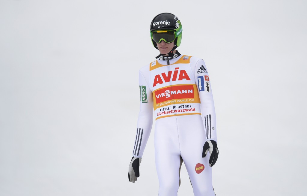 World Cup champion Peter Prevc was second today