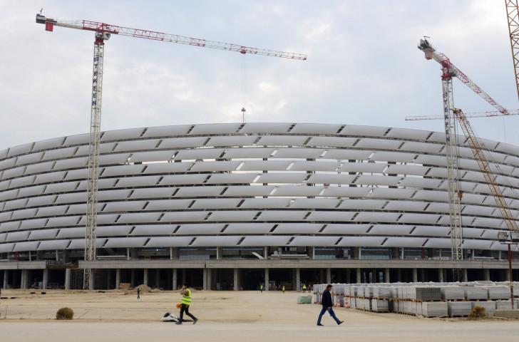 Einius Petkus believes the Baku 2015 facilities could serve as a benchmark for future European Games