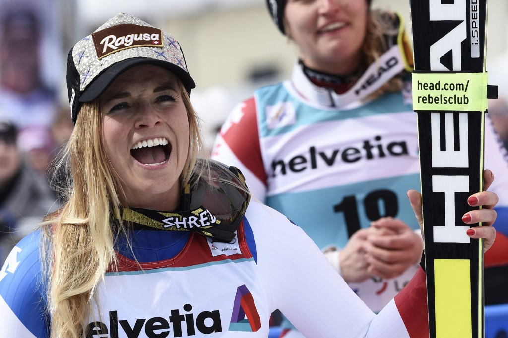 Gut crowned as overall FIS World Cup winner on home snow