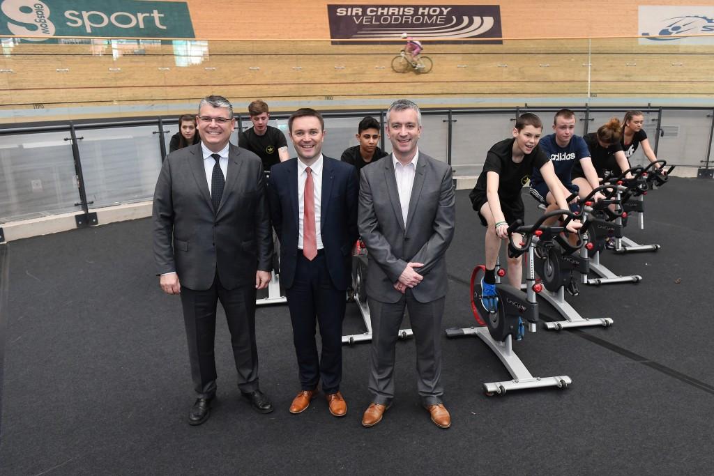 Cycling chief praises Glasgow venues for 2018 European Championships