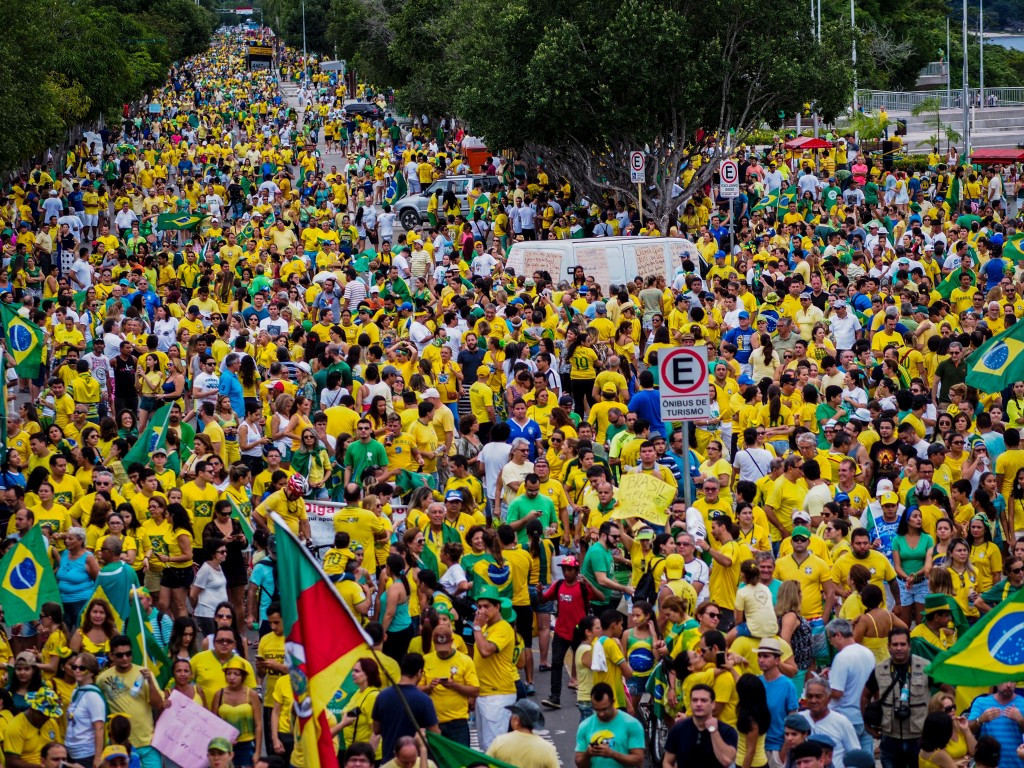 More than a million march in Brazilian anti-Government protests with Rio 2016 looming