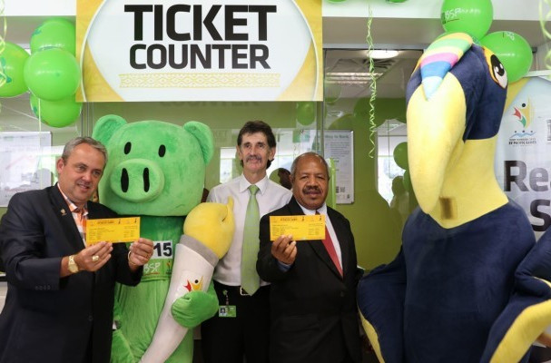 Tickets for the 2015 Pacific Games went on sale last month