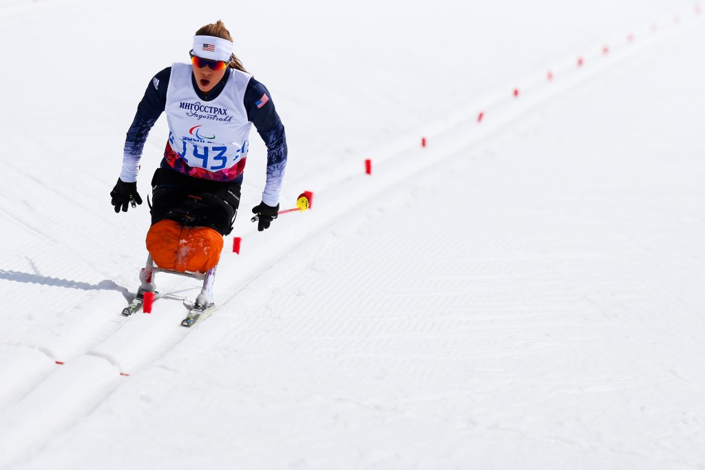 US sit skier Oksana Masters extended her lead in the IPC Cross Country World Cup standings ©Getty Images