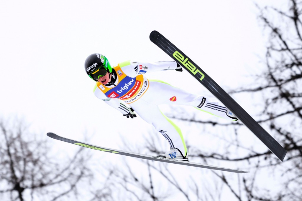 Overall champion Peter Prevc came out on top in Planica ©Getty Images