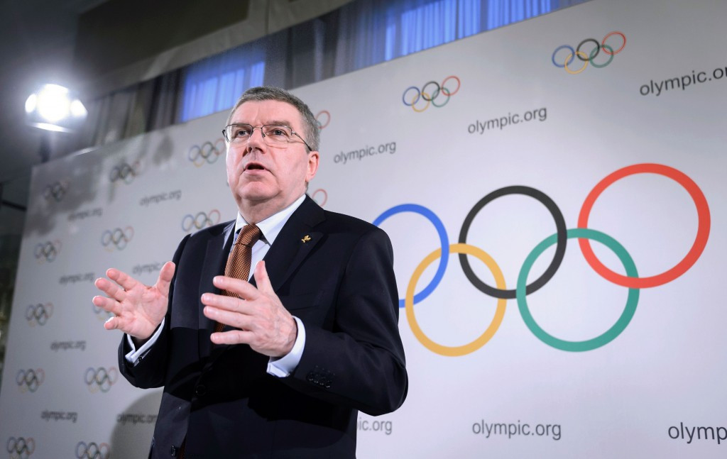 The influence of IOC President Thomas Bach could be key when it comes to Russian reinstatement