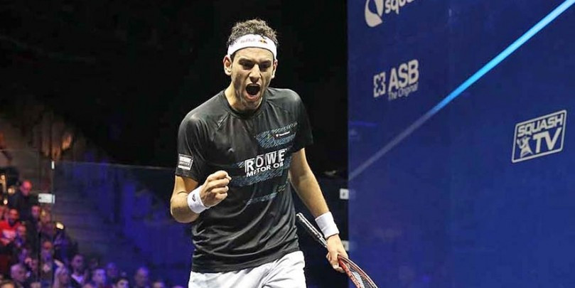 Elshorbagy breaks PSA record on way to fourth consecutive month as world number one