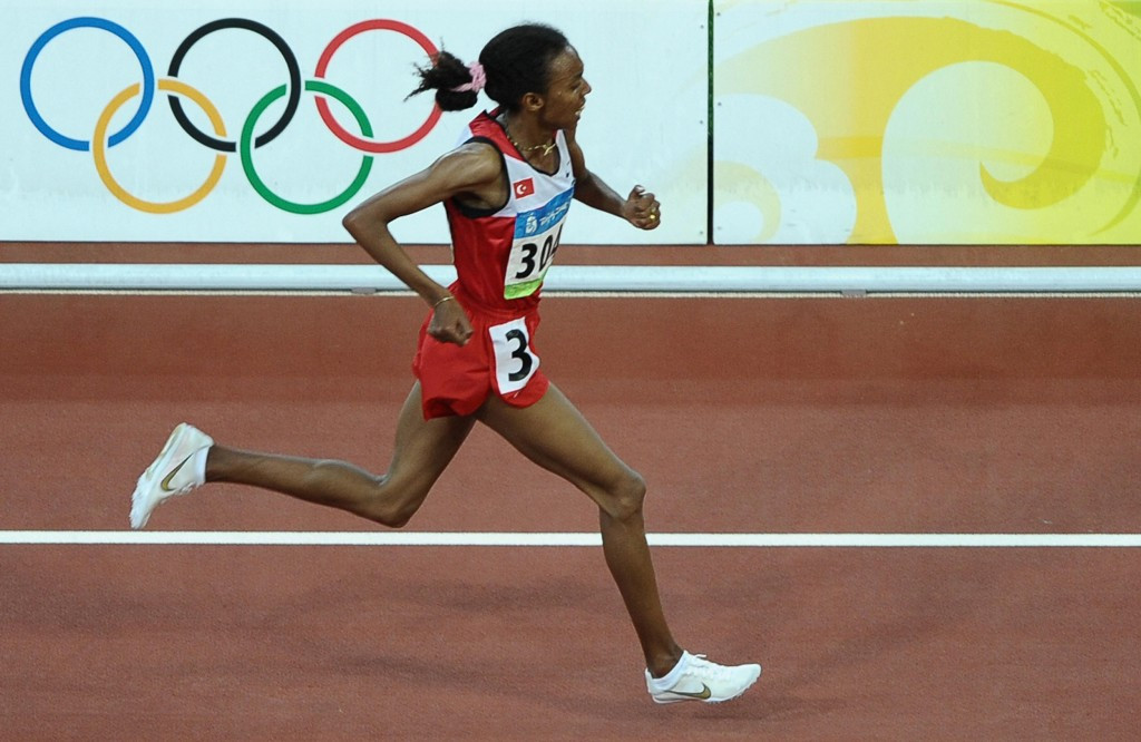 Elvan Abeylegesse has been banned for two years by the Turkish Athletics Federation ©Getty Images