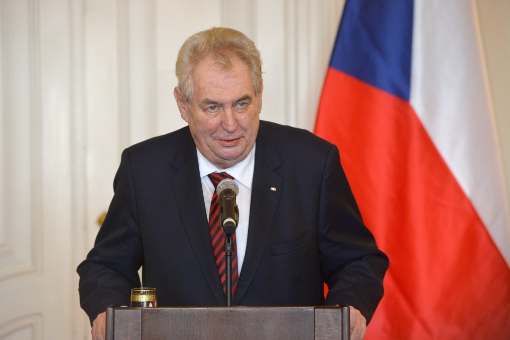 Czech Republic President Milos Zeman has confirmed he will attend the Opening Ceremony of London 2012 ©Getty Images