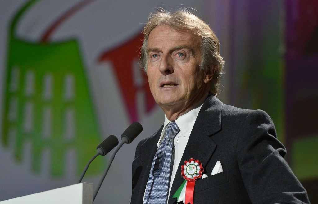 Rome 2024 bid chairman Luca di Montezemolo has been dragged into the furore over the release of the Panama Papers ©Getty Images